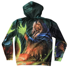 Infected Mushroom - Return To The Sauce - Custom Dye Sub Zip Up Hoodie