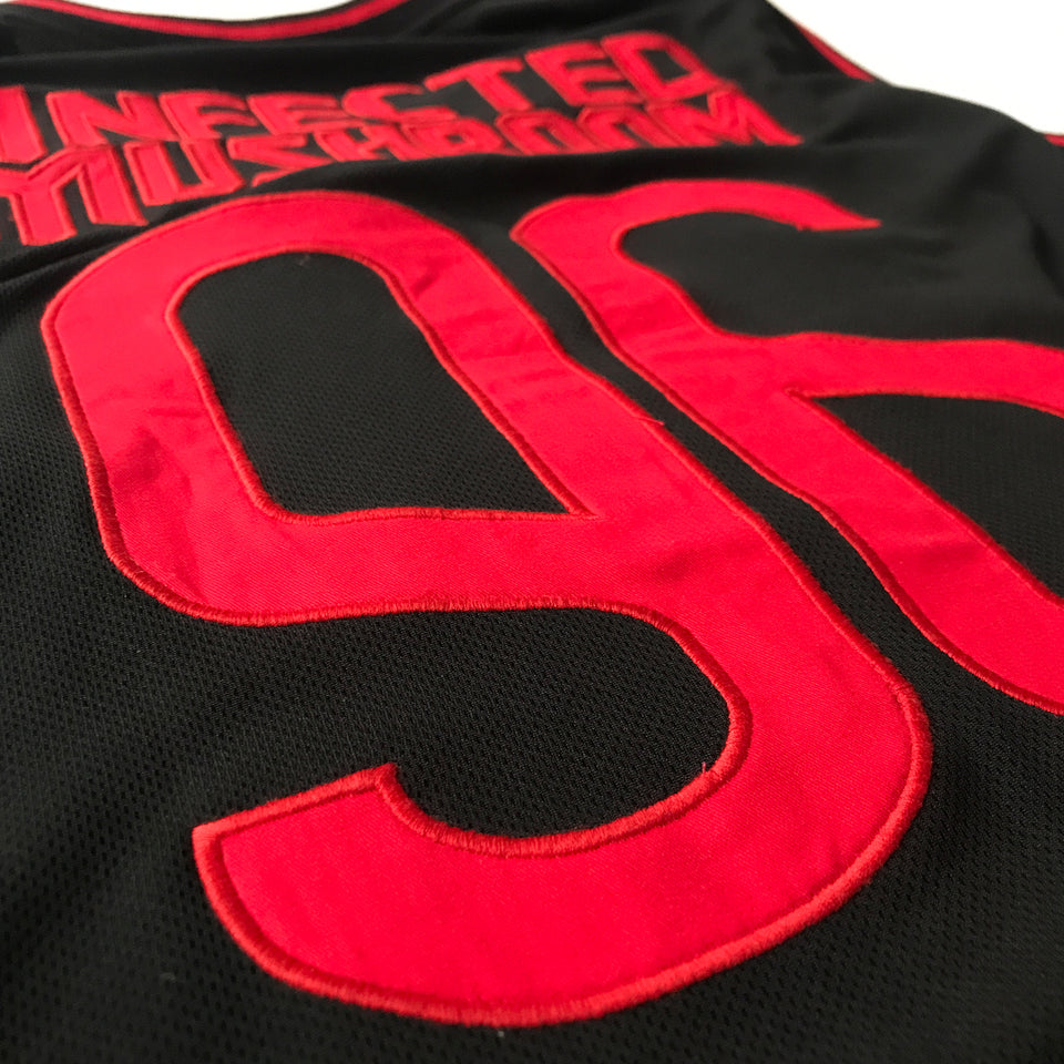 Infected Mushroom - Logo - Basketball Jersey