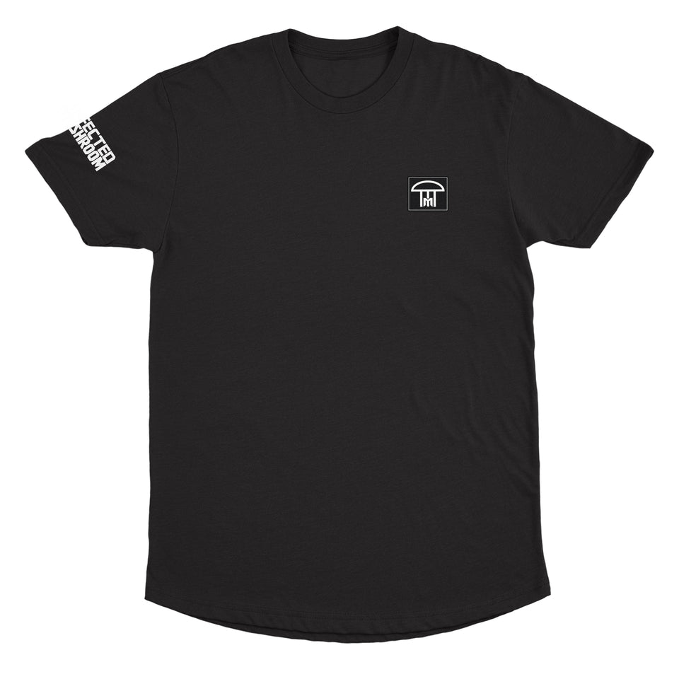 Infected Mushroom - Logo - Black Long Hem Tee