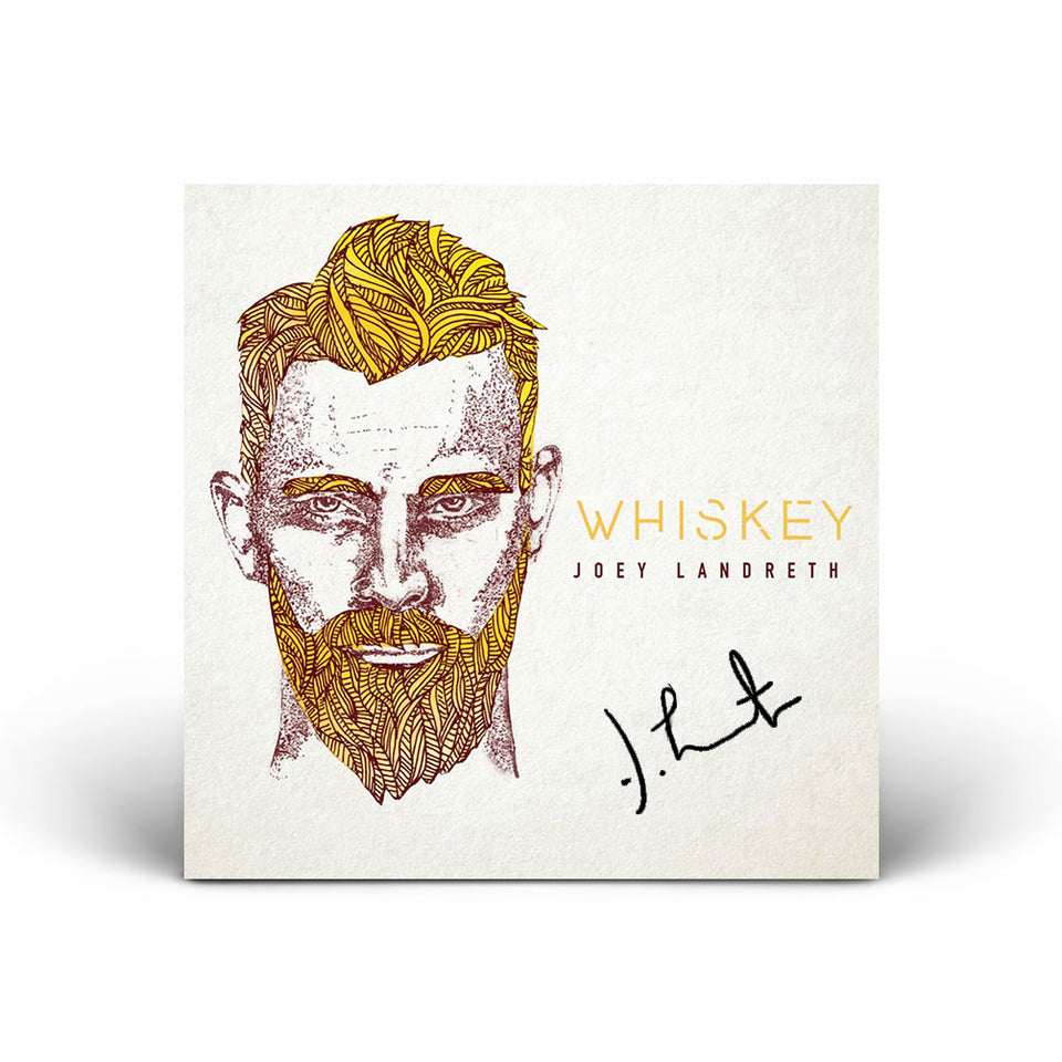 Joey Landreth - Whiskey CD - SIGNED