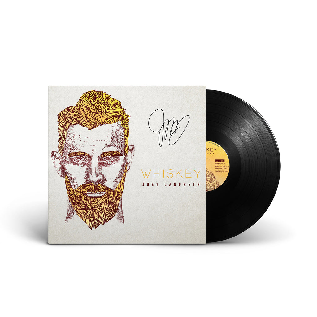 Joey Landreth - Whiskey Vinyl LP - SIGNED