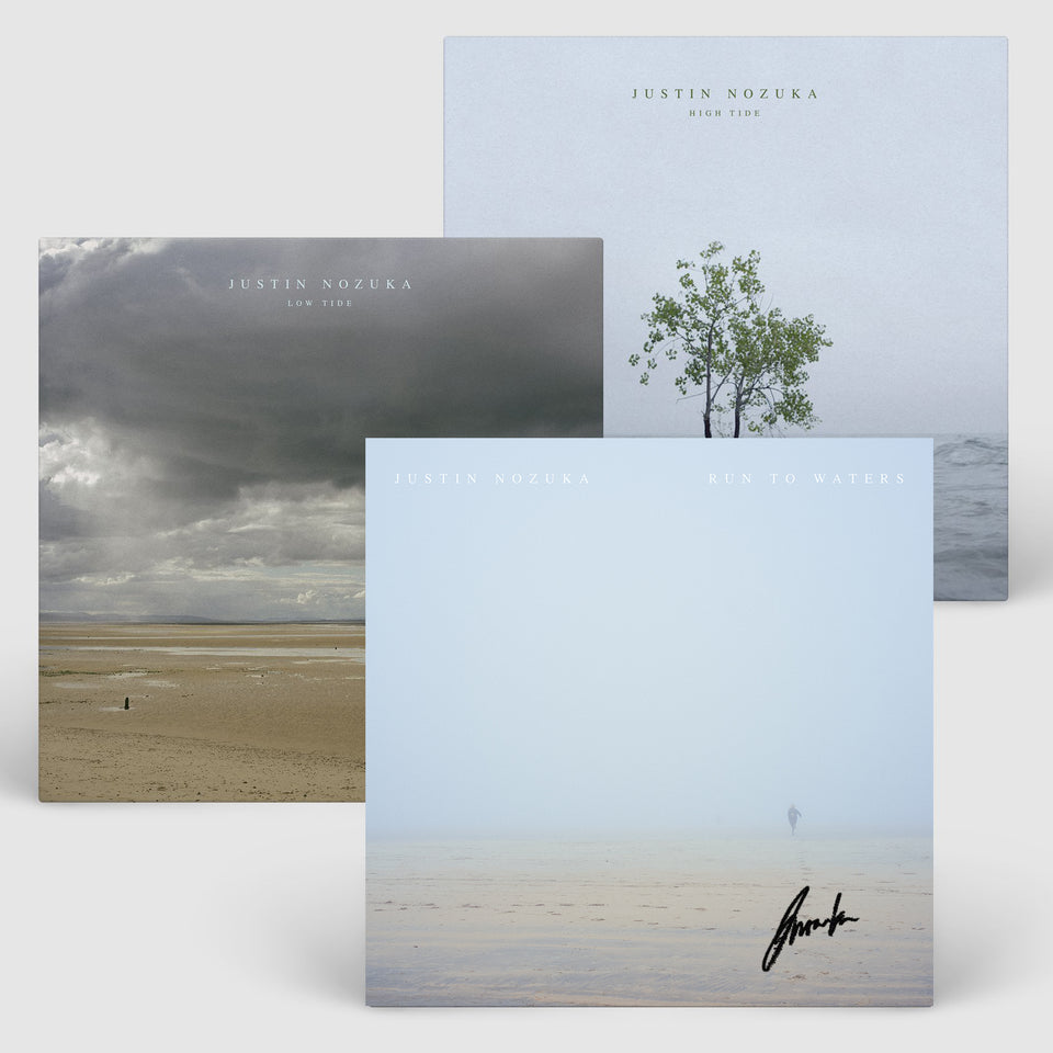 Justin Nozuka - Limited Edition Run To Waters Signed Poster Bundle + Album Download