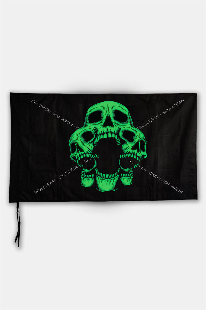 KAI WACHI - Skull Team Flag
