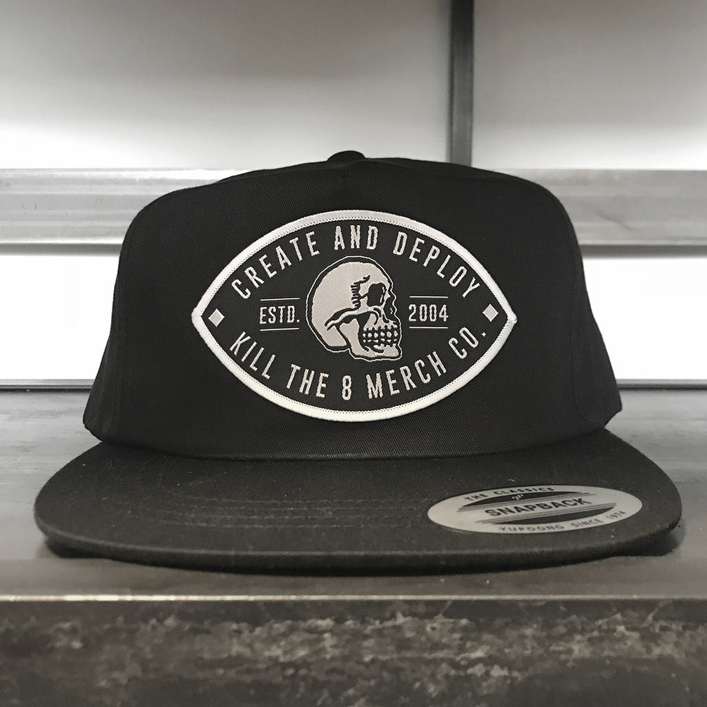 KT8 Apparel - Create And Deploy - Lightly Structured Snapback