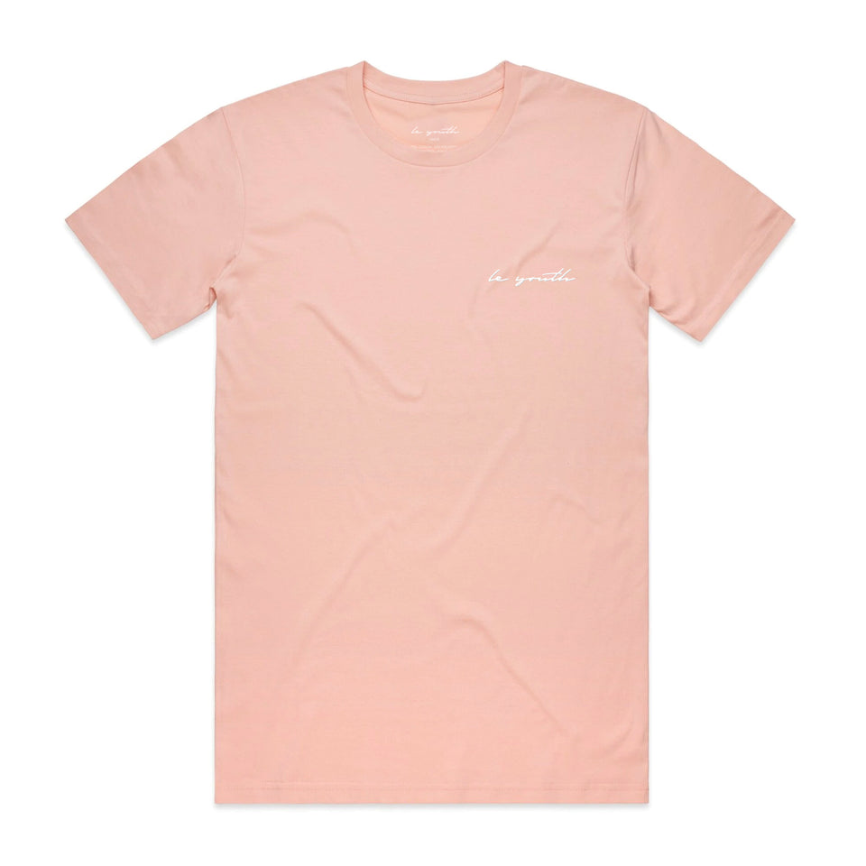 PRE ORDER - Le Youth - Signature Collection - Embroidered Logo Cotton Tee