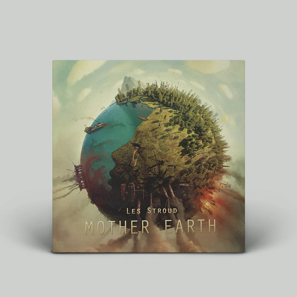 Survivorman - Mother Earth - Tee + CD Bundle