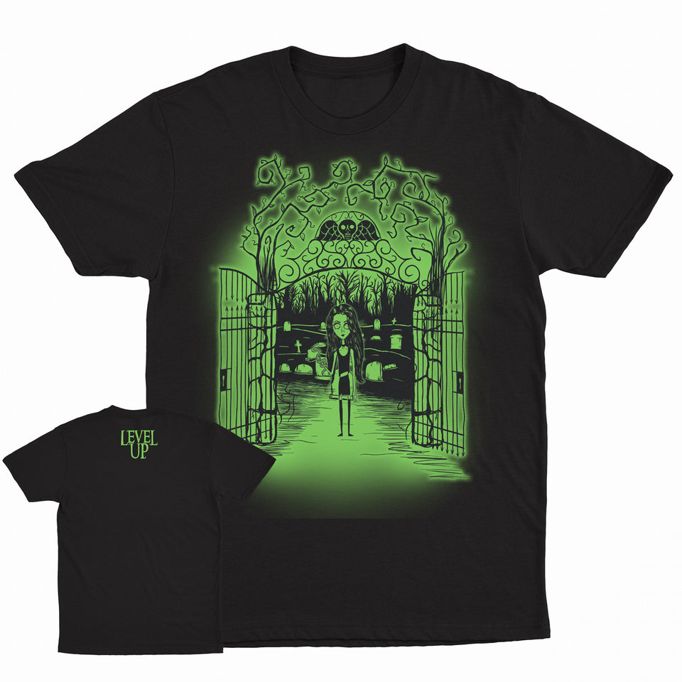 Level Up - Cemetery Tee