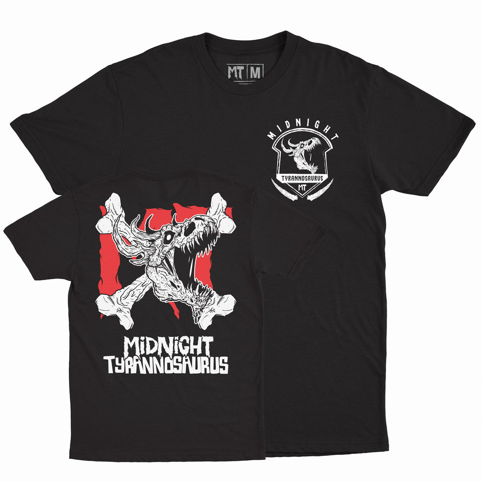 Midnight Tyrannosaurus - 2020 Midnight - Black Tee