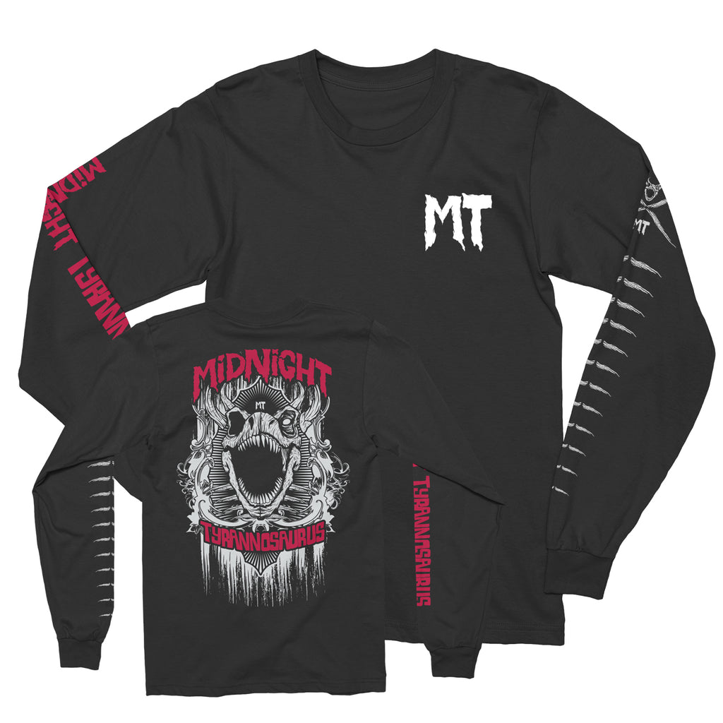 Midnight Tyrannosaurus - Logo - Unisex Long Sleeve Shirt