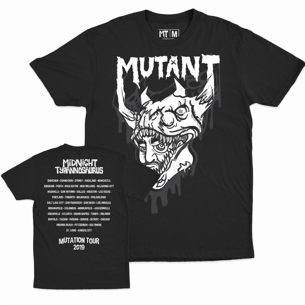 Midnight Tyrannosaurus - Mutation Tour 2019 - Unisex Tee