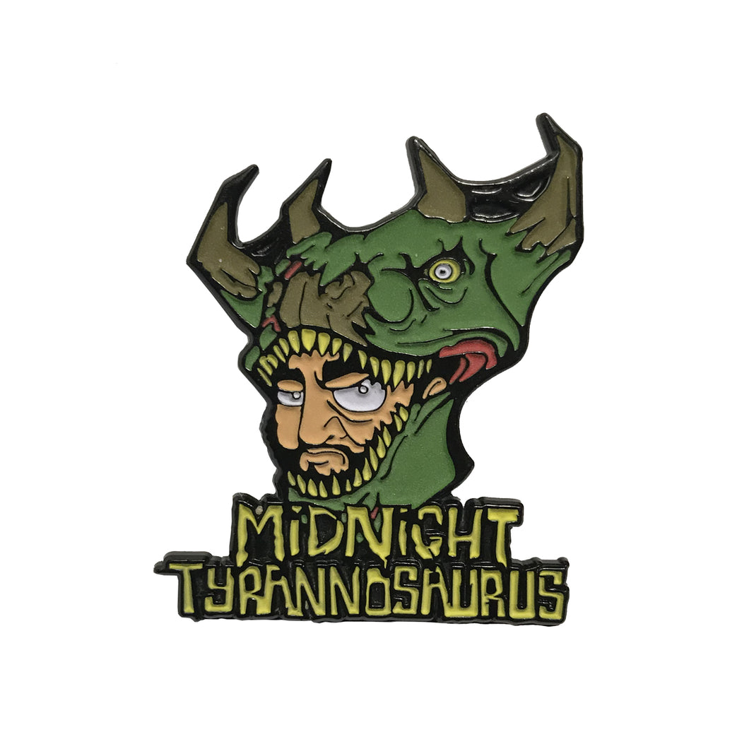 Midnight Tyrannosaurus - Limited Edition Lapel Pin
