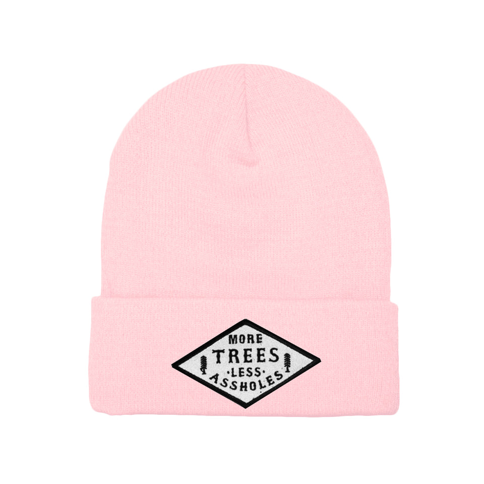 PRE ORDER - More Trees Co. - Beanie - Pink