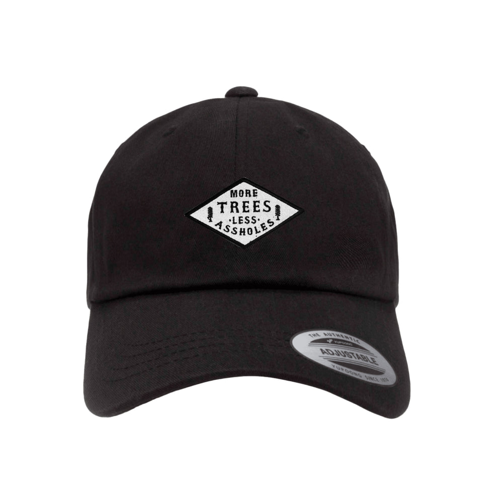 PRE ORDER - More Trees Co. - Premium Dad Hat - Black