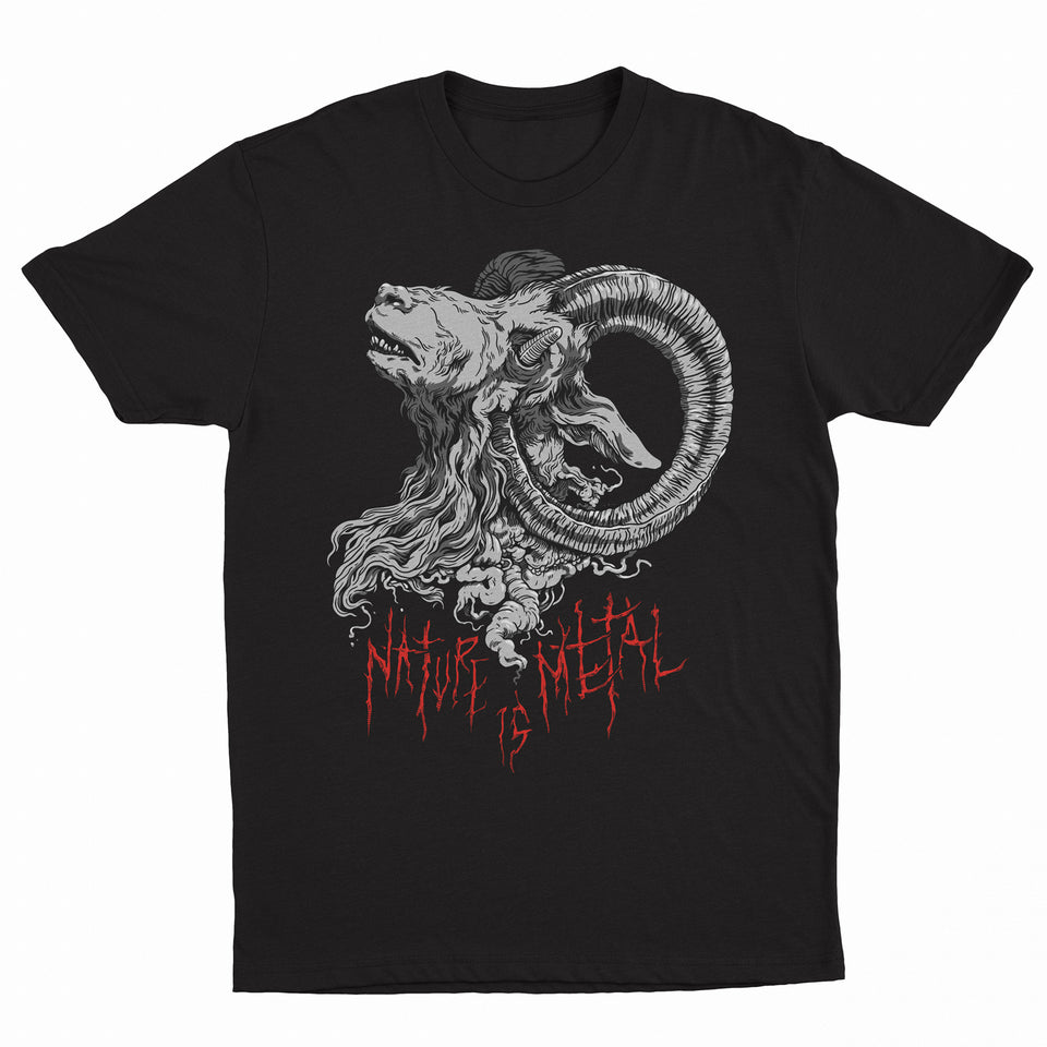 PRE ORDER - Nature Is Metal - Mr. Self Destruct - Black T-Shirt