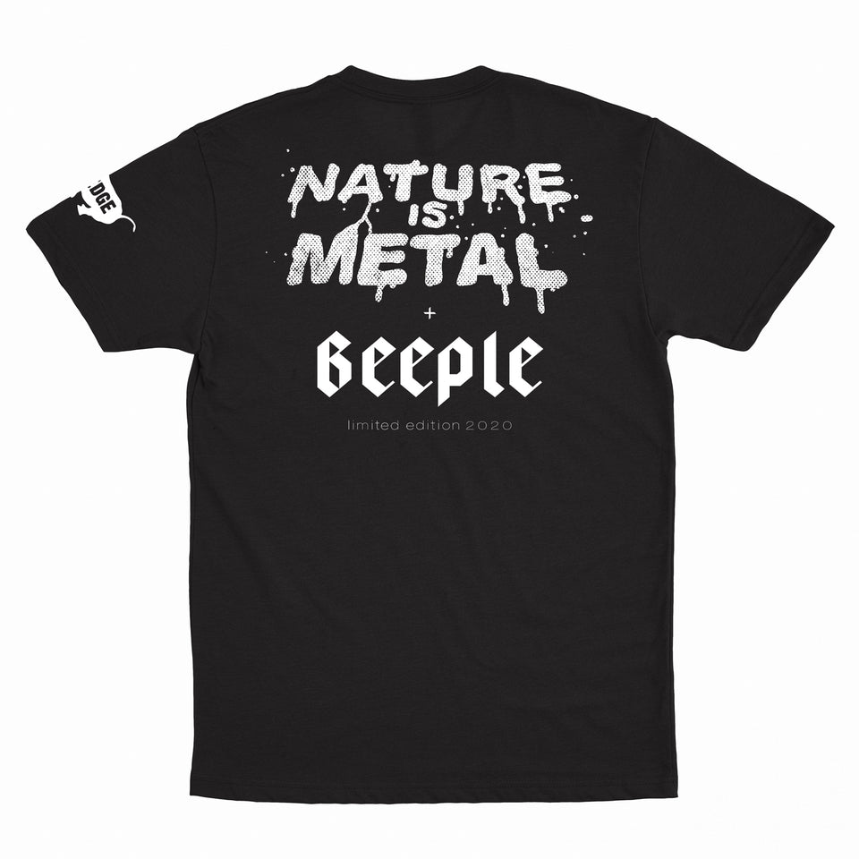 PRE ORDER - Nature is Metal x Beeple - Zero Sum - Limited Edition Tee
