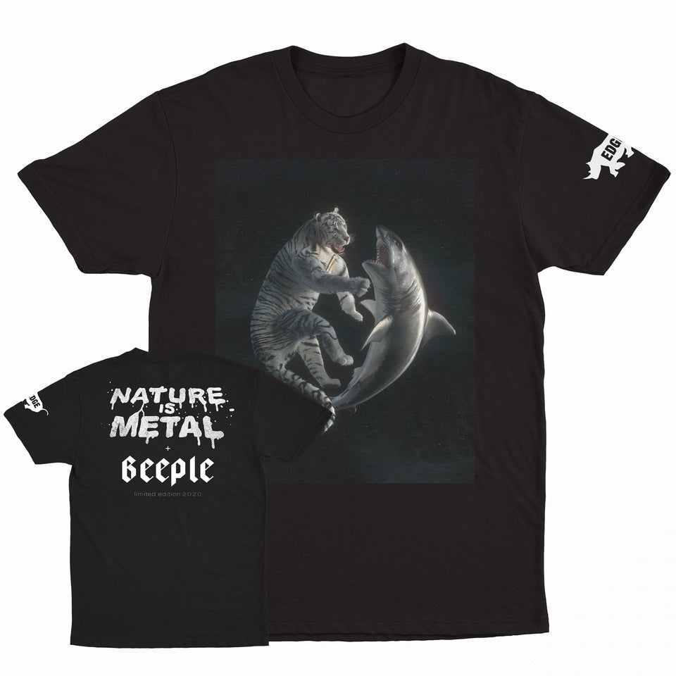 Nature is Metal x Beeple - Zero Sum - Limited Edition Tee