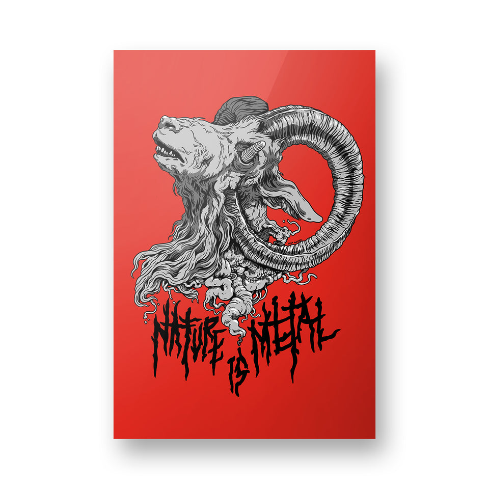 Nature Is Metal - Mr. Self Destruct - Poster