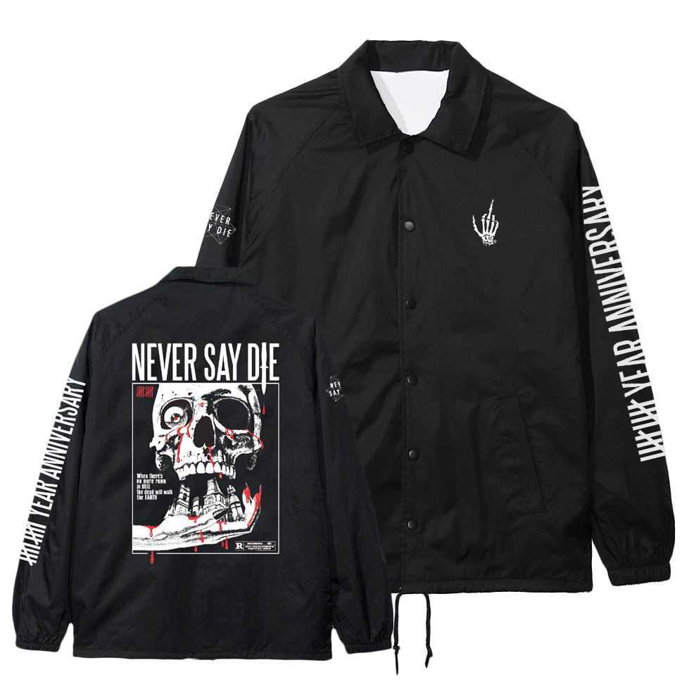 NSDR - NSD 10 x Creep Street - Black Coach Jacket