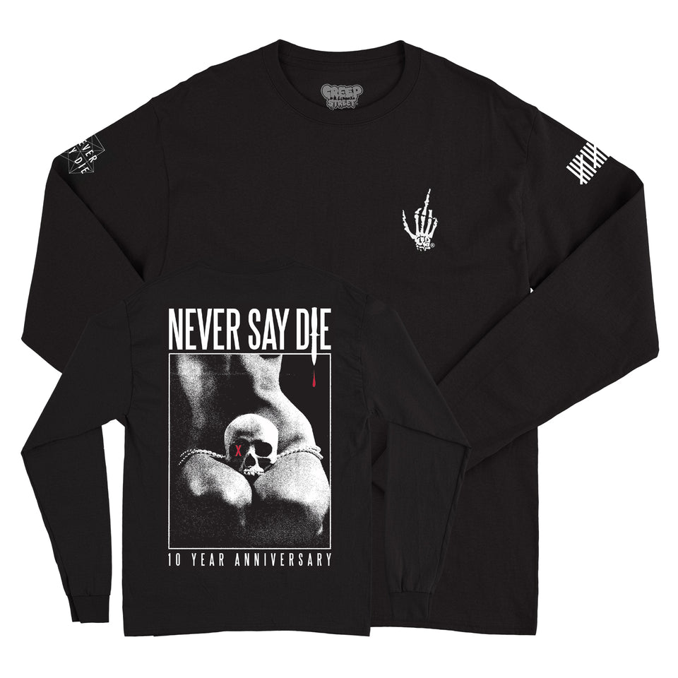 NSDR - NSD 10 x Creep Street - Black Long Sleeve Tee