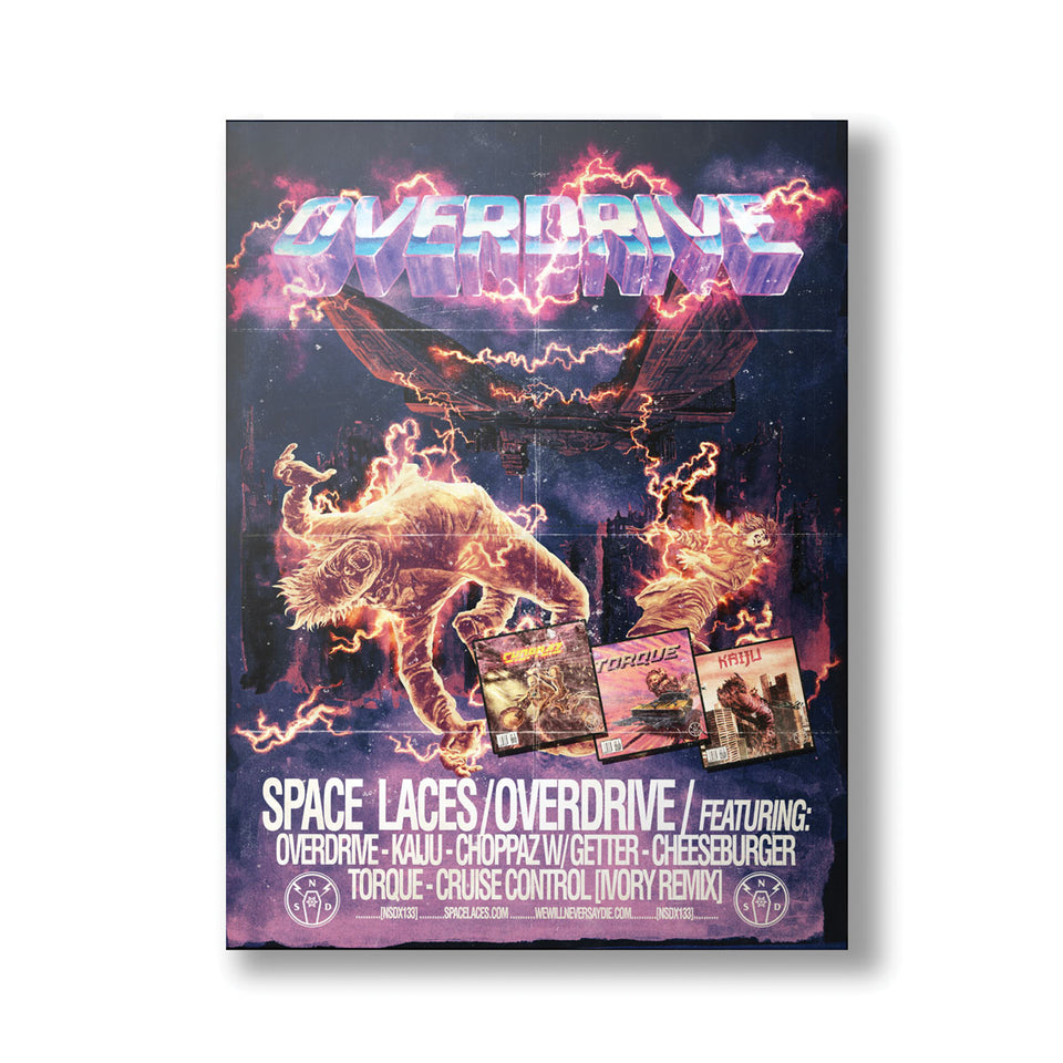 NSDR Space Laces - Overdrive POSTER