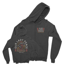 Our Lady Peace - Deer - Black Zip Up Hoodie