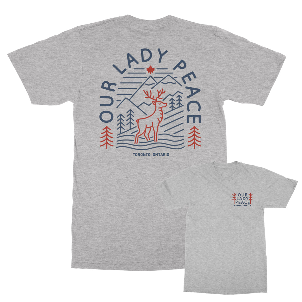 Our Lady Peace - Deer Heather Gray Tee