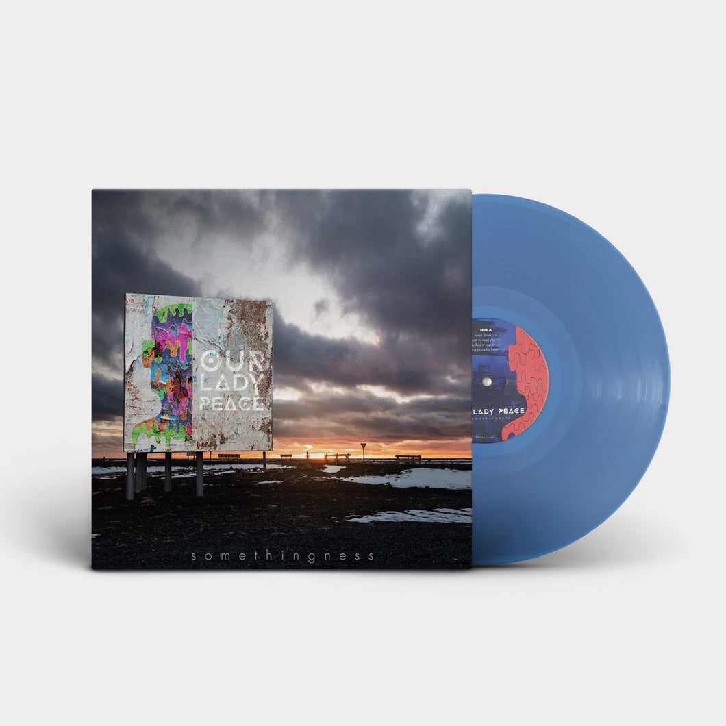 Our Lady Peace - Somethingness - Limited Translucent Blue LP