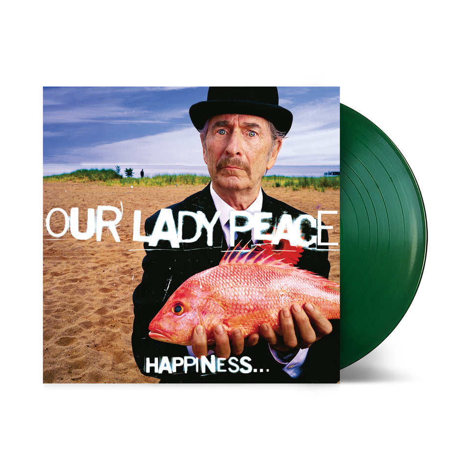Our Lady Peace - Happiness... Is Not a Fish You Can Catch - Translucent Green Vinyl LP