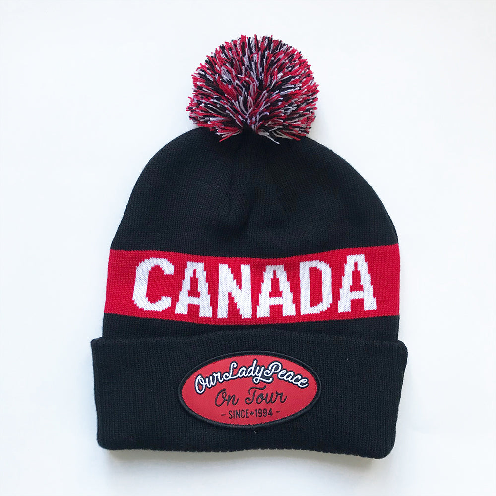 Our Lady Peace - On Tour CANADA - Custom Knit Hat