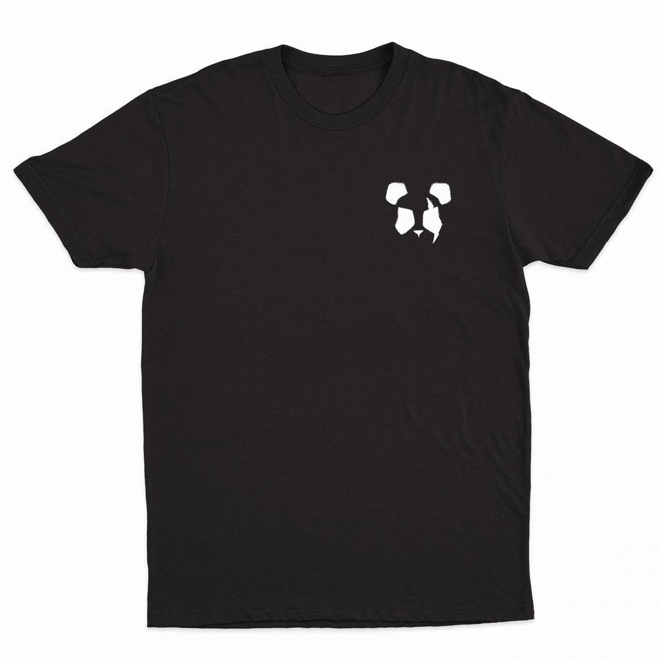 Panda Eyes - Logo - Black Tee