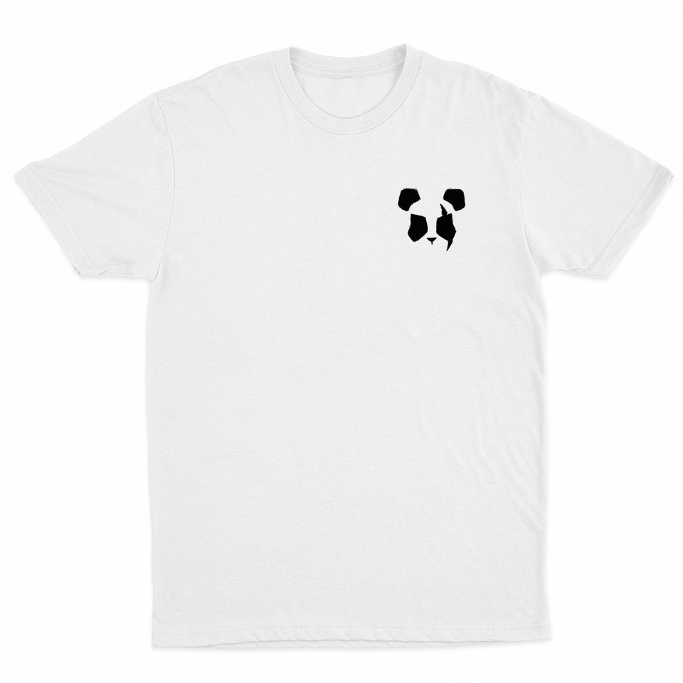 Panda Eyes - Logo - White Tee