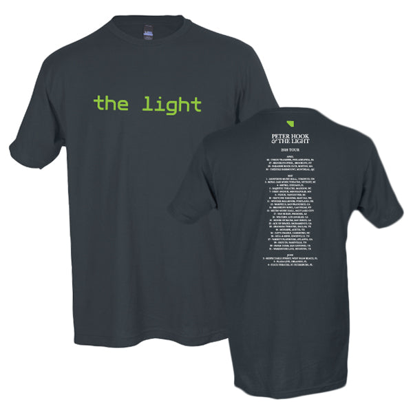 Copy of PHTL - The Light - Charcoal T-Shirt