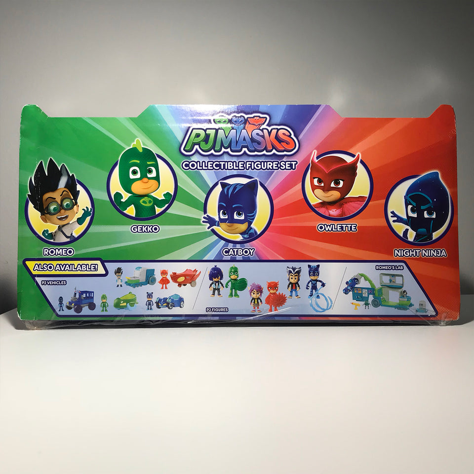 PJ Masks Collectible Figurine Set