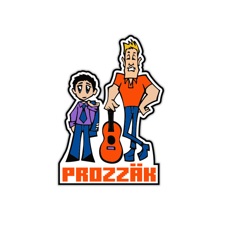Prozzak - Simon and Milo - Limited Edition Lapel Pin