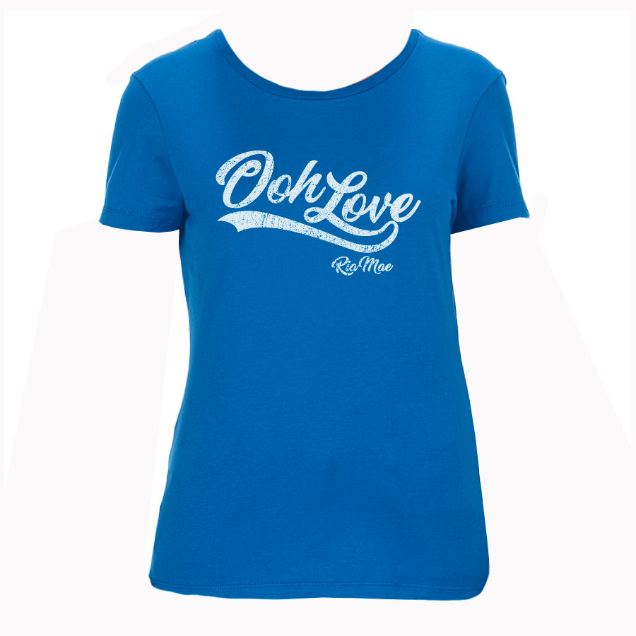 Ria Mae - Ooh Love - Ladies Blue Tee