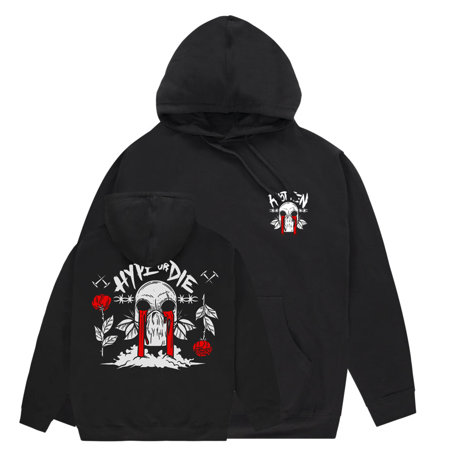 Riot Ten - Bleeding Eyes - Pullover Hoodie