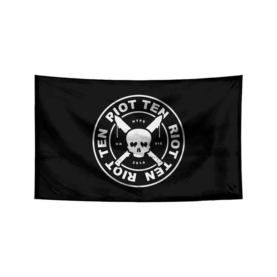 Riot Ten - Logo - Flag