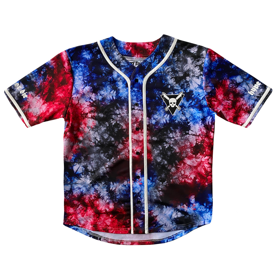 Riot Ten - Pretty Tie Dye - Baseball Jersey