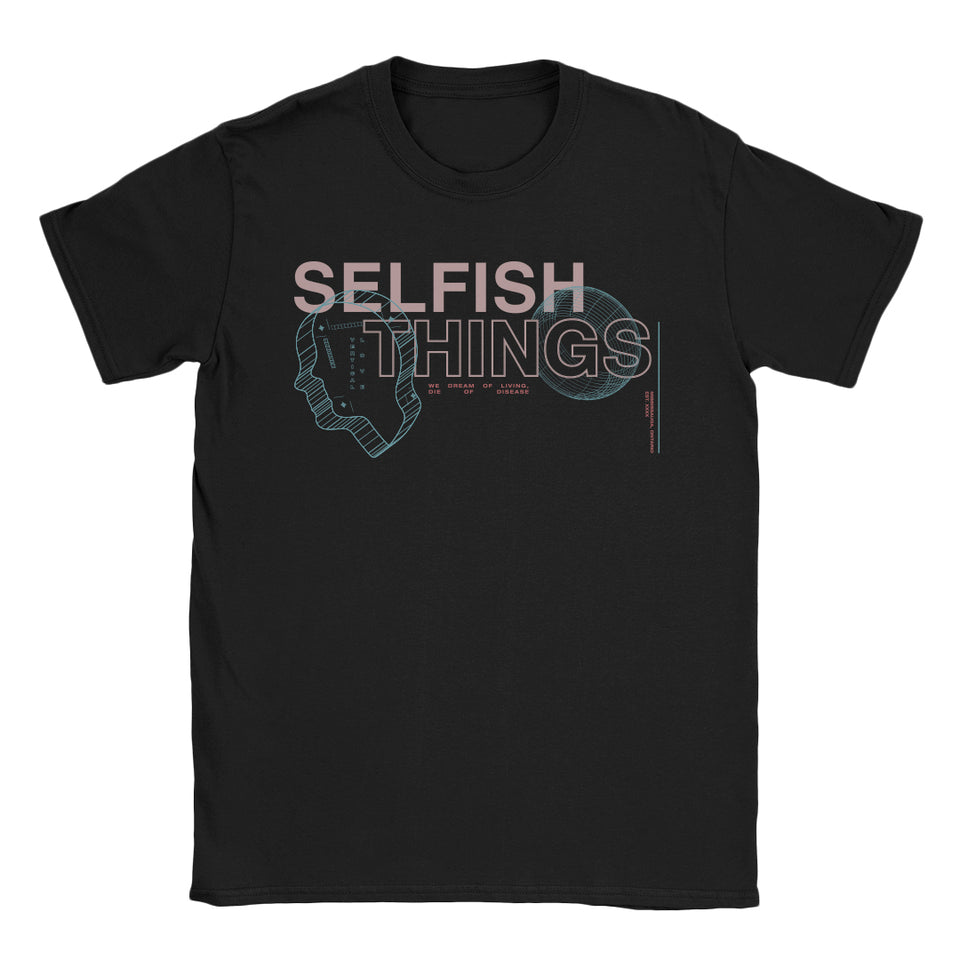 Selfish Things - Disease - Black