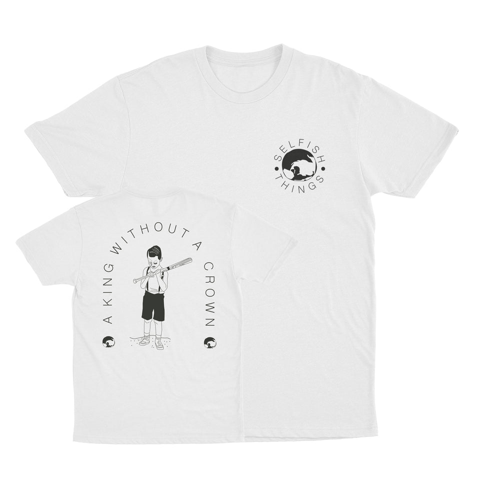 Selfish Things - King - White Tee
