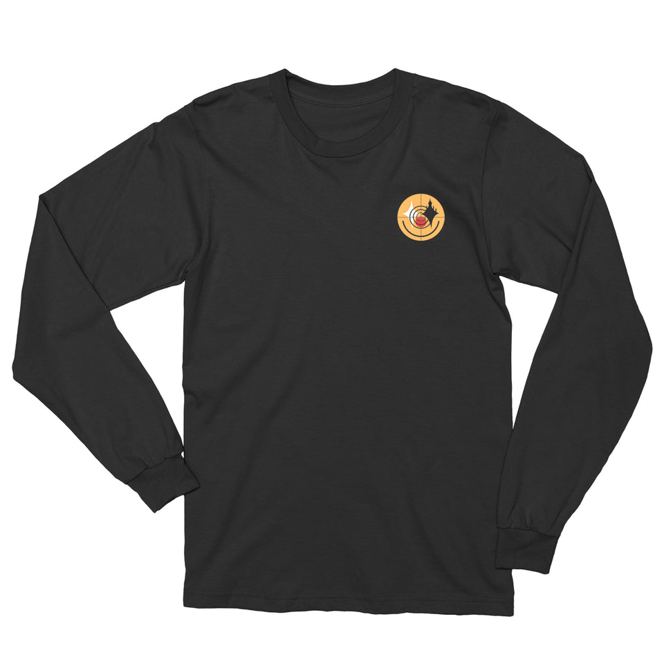 SHAD Smiley Black Long Sleeve T-Shirt