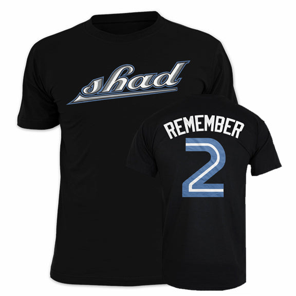 SHAD Remember Black Tee