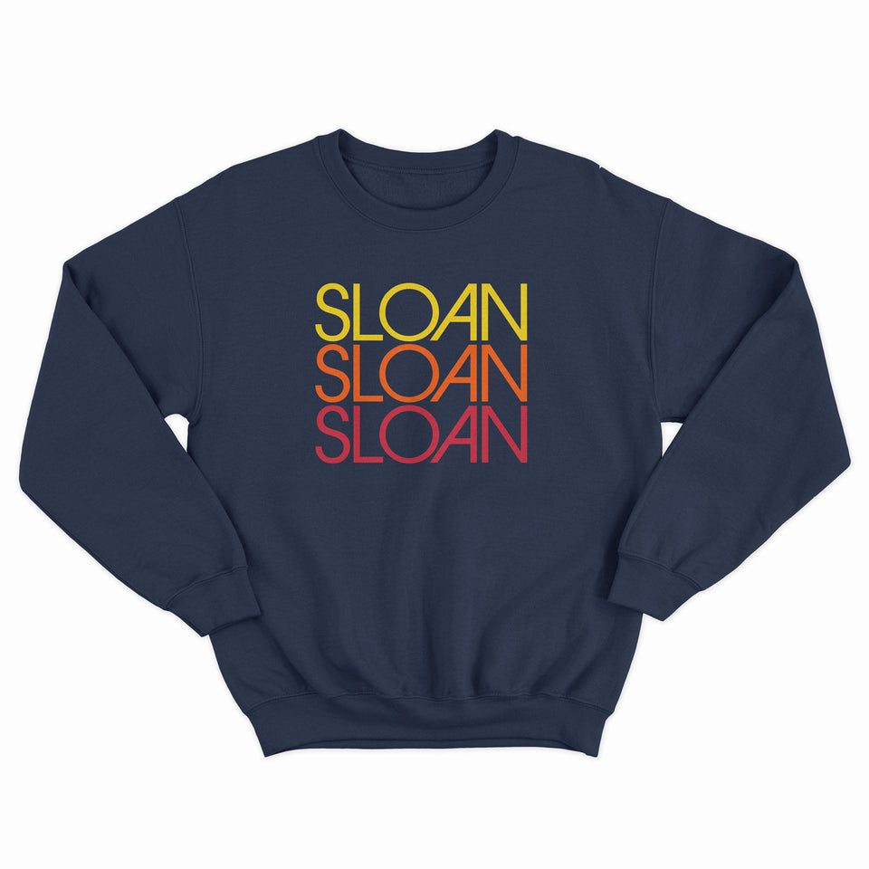 SLOAN -Repeat Logo- Navy Blue Crew