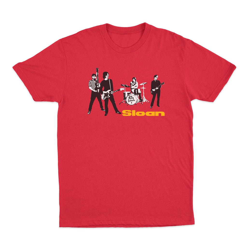 SLOAN -Live- Red Tee