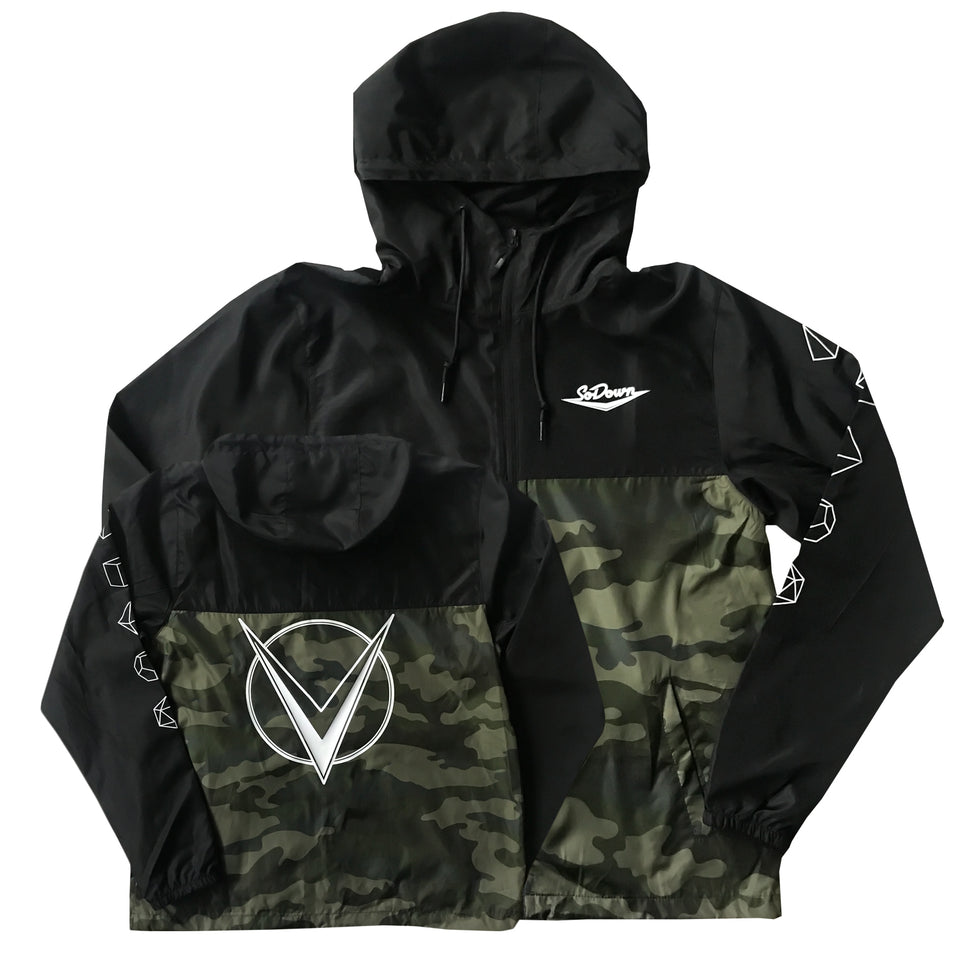 SoDown - Monogram-  Lightweight Windbreaker