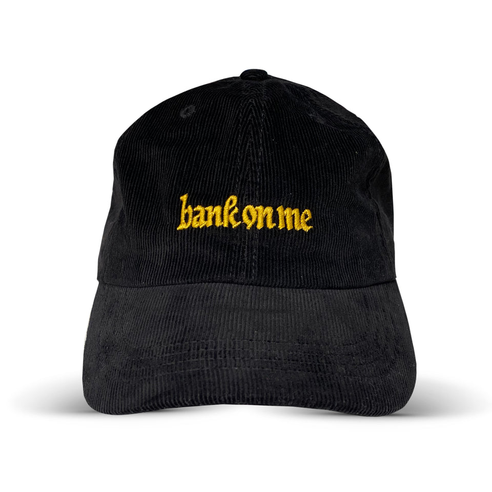 SonReal - Bank On Me - Black Corduroy Dad Hat