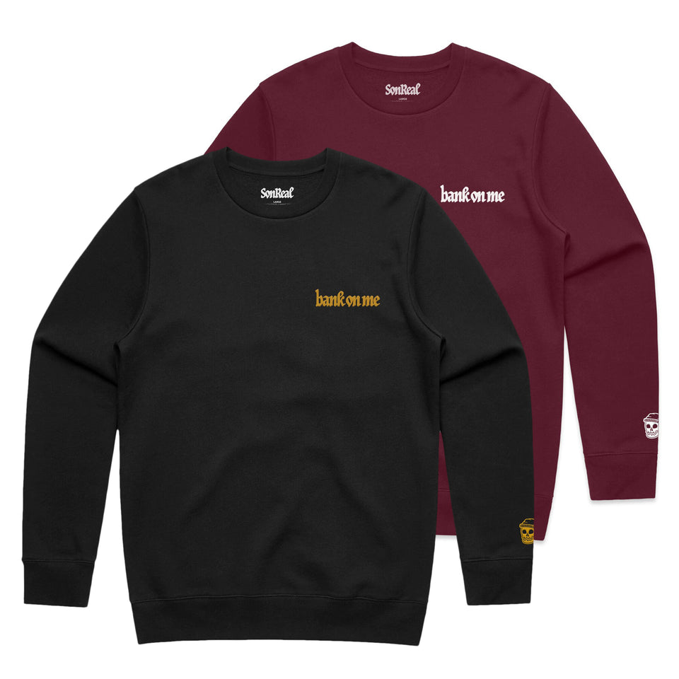 SonReal - Bank On Me - Crew Sweatshirt