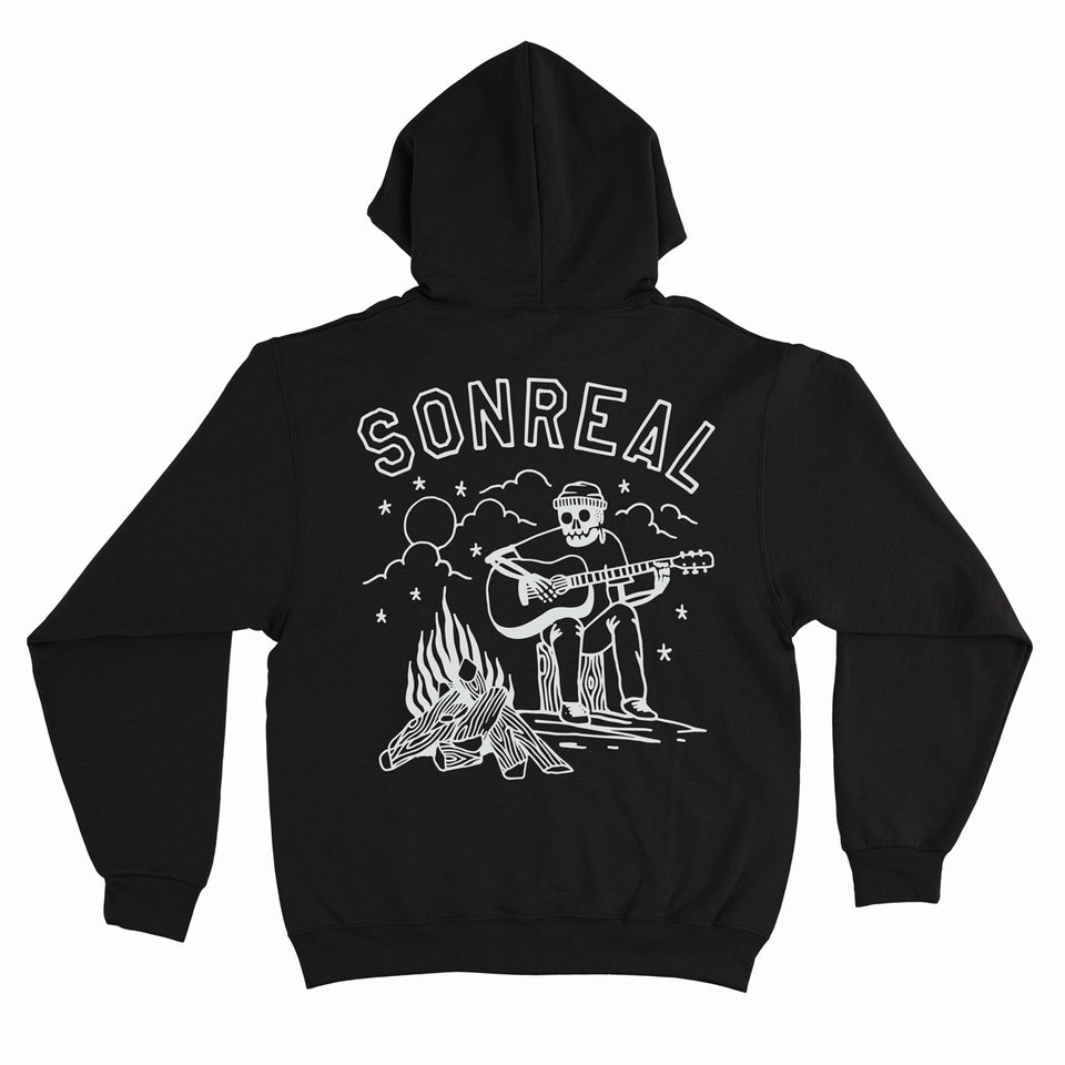 SonReal - Go Camping - Black Pullover Hoodie