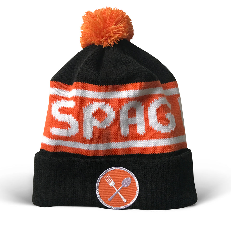 Spag Heddy - Custom Knit Pom Pom Hat