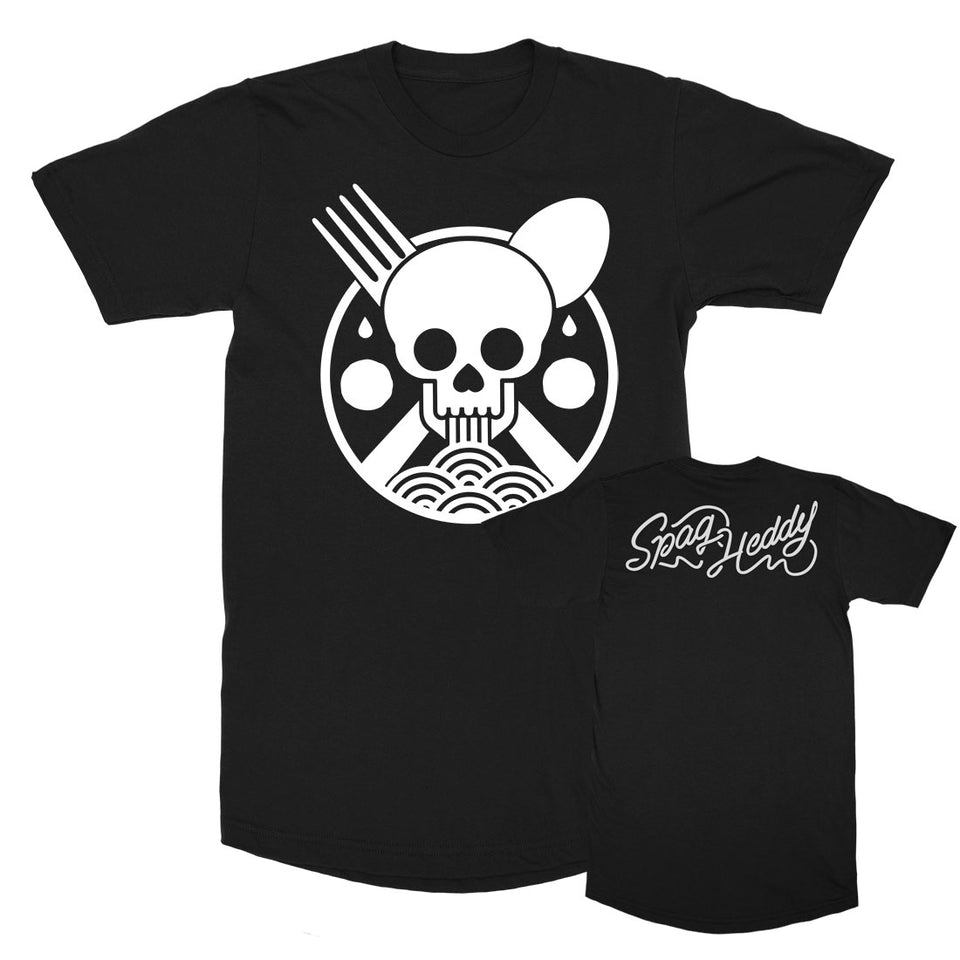 Spag Heddy - Saucy Till Death - Black Long Tee